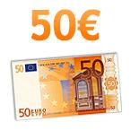 Chèque de 50 euros