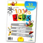 Téléchargez et imprimez ce premier carnet de jeu de 10 pages aux couleurs de votre site préféré ! Vous y trouverez des Sudoku, Mots fléchés, Mots croisés, Jeux pour les enfants... et bien d'autres. C'est l'idéal pour les vacances. A partager avec toute la famille !