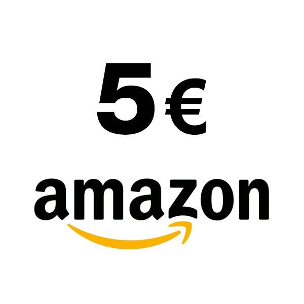 Chèque Amazon de 5¤