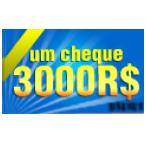 Cheque de R$ 3000