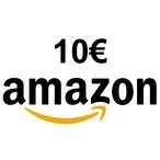 Chèque amazon de 10euros