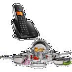 Ganhe um conjunto de panelas ou um Telefone sem fio.  *O vencedor receberá um código (vale-presente) no valor do prêmio em questão para trocar em um dos parceiros
