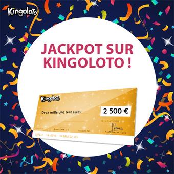 Chèque de 2500 euros