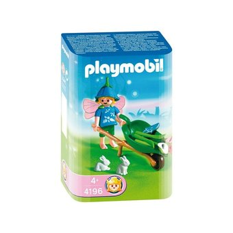 1 playmobil fee brouette 4196