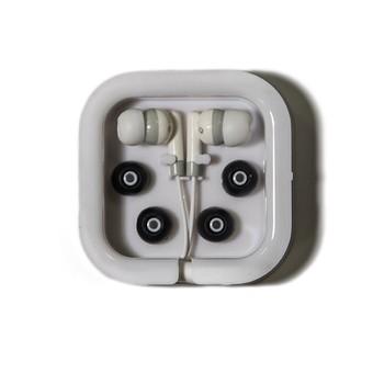 Ecouteurs noir et blanc