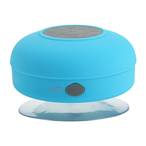 1 Haut-parleur étanche bleu