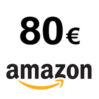 1 bon Amazon de 80¤