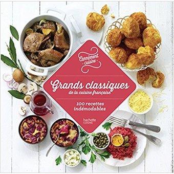1 livre Grands Classiques de la cuisine française