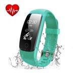 Le bracelet d'activité intelligent enregistre une ...