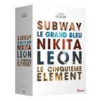 5 DVDs par Luc Besson Contient : Subway; Le Grand Bleu; Nikita; L?on; Le Cinqui?me ?l?ment.