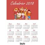Recevez votre calendrier 2018 Kingoloto pour planifier facilement tous vos rendez-vous !