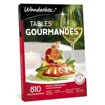1 Wonderbox Tables gourmandes