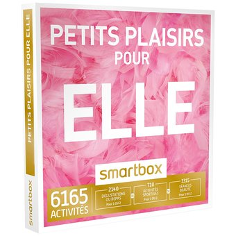 1 Smartbox Petits Plaisirs pour Elle