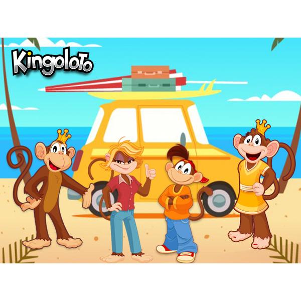 Fond d'ecran Kingoloto Vacances