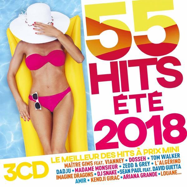 1 CD 55 Hits de l'?t?