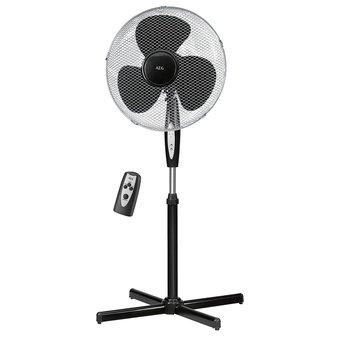 1 ventilateur sur pied avec telecommande