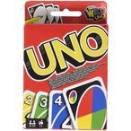 Facile ? apprendre, vous serez vite gagn? par la fr?n?sie d'UNO, le plus c?l?bre des jeux de cartes familiaux Pour gagner d?barrassez-vous de toutes vos cartes, utilisez les cartes action pour pi?ger vos adversaires Lorsqu'il ne vous reste plus qu'une seule carte en main n'oubliez pas de dire UNO 2 ? 10 joueurs, ? partir de 7 ans