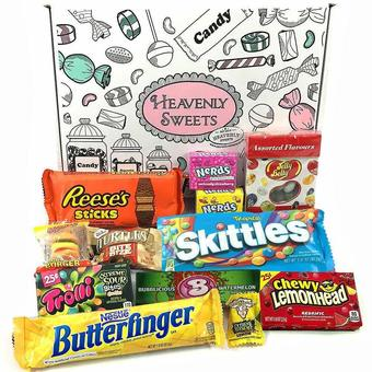 1 boite de bonbons American Candy