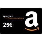 1 bon Amazon de 25?