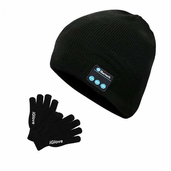 1 Bonnet Gants Bluetooth