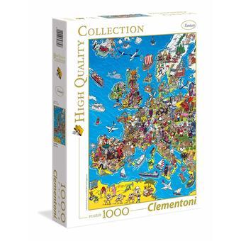1 puzzle 1000 pi?ces Europe