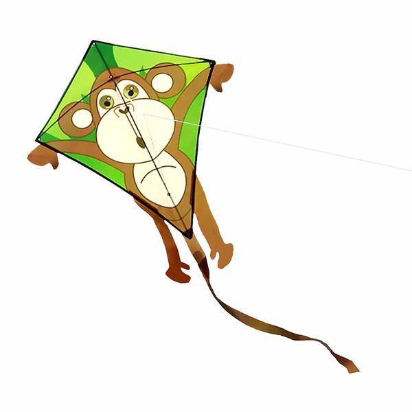 1 cerf-volant singe