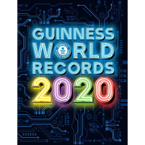 Un livre Guiness Book 2020