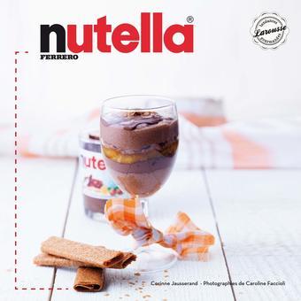 Un livre de recettes Nutella