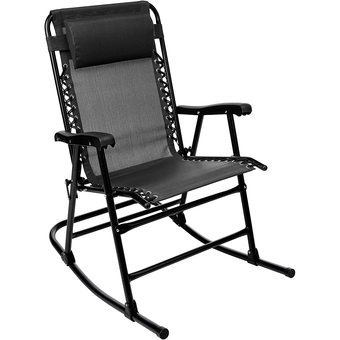 Une rocking chair pliante