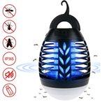 Une combinaison parfaite d'une lampe de camping air et d'un anti-moustique ?lectrique, ?quipe les ampoules UV qui peuvent attirer efficacement les insectes volants dans l'appareil. Il peut ?galement ?tre utilis? comme lampe d'ext?rieur jusqu'? 14 heures.