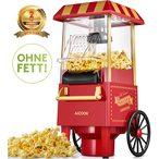 Machine ? Pop Corn, 1200W Retro Machine ? Popcorn avec Air Chaud, Sans Gras Huile, Facile ? L'utilisation