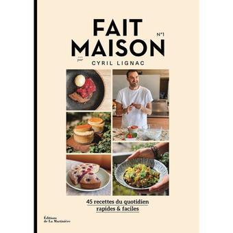 1 livre de recettes maison