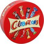 Boite en M?tal refermable Celebrations contenant 435g d'assortiments miniatures de vos chocolat pr?f?r?s! Mars, Snickers, Bounty, Twix, Milky Way, Maltesers... un choix ludique ? partager en famille et entre amis ! Avec Celebrations, c?est 365 jours de bonne humeur pour f?ter les petites et les grandes occasions de la vie. Que la f?te commence!!