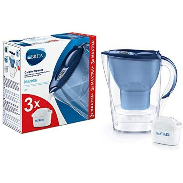 1 carafe d'eau filtrante