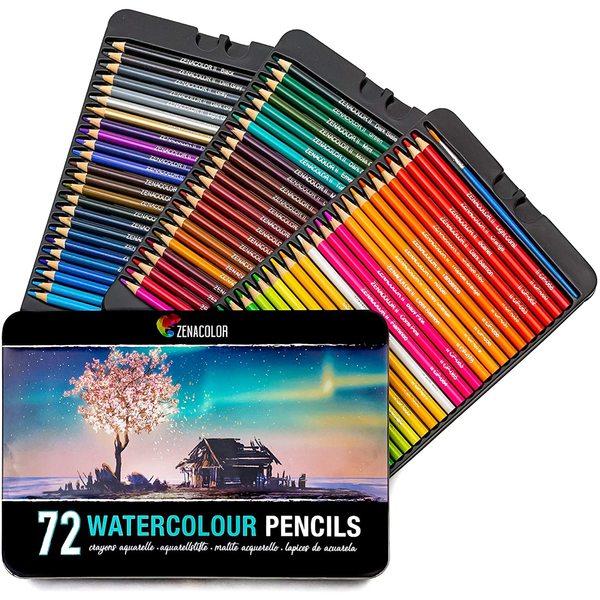 1 coffret crayons de couleur