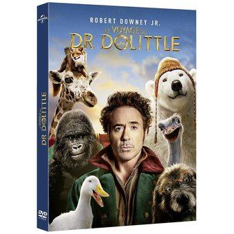1 DVD le Voyage du Dr Dolitle