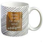 350 ml de bonheur adapt? ? toutes les boissons : th?, caf?, chocolat, soupe et bien d'autres ! Parfait pour un r?veil en douceur ou quand une pause s'impose !