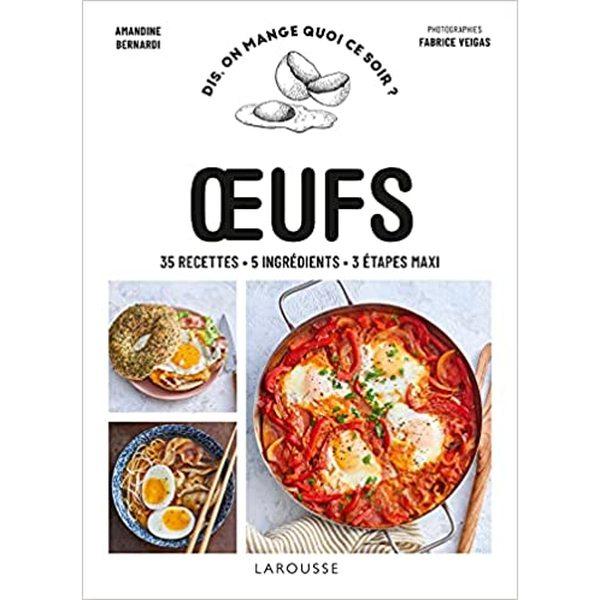 1 livre de recettes Oeufs
