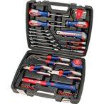 La bo?te ? outils est l??quipement de base parfait pour chaque maison, garage ou camping. Rempli avec les outils les plus importants pour chaque occasion.