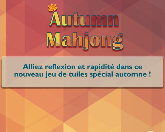 Autumn Mahjong landing
