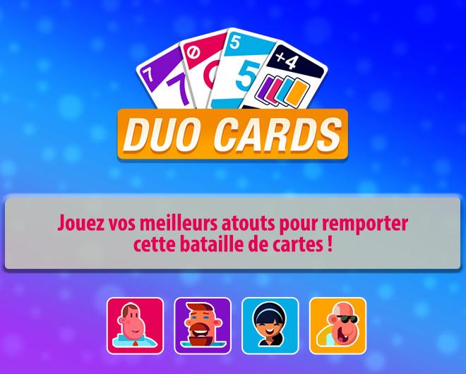 Duo Cards landing