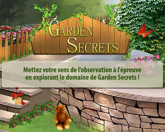 Garden Secrets landing
