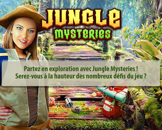 Jungle Mysteries landing