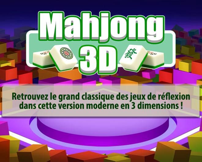 Mahjong 3D landing
