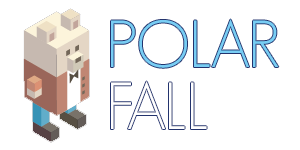 Polar Fall - Jeu d'adresse avec animation
