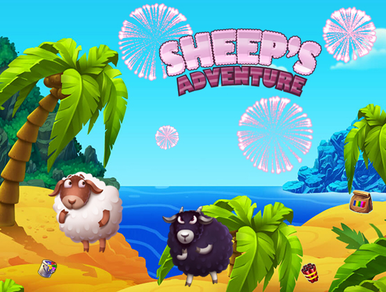 Sheeps Adventure landing