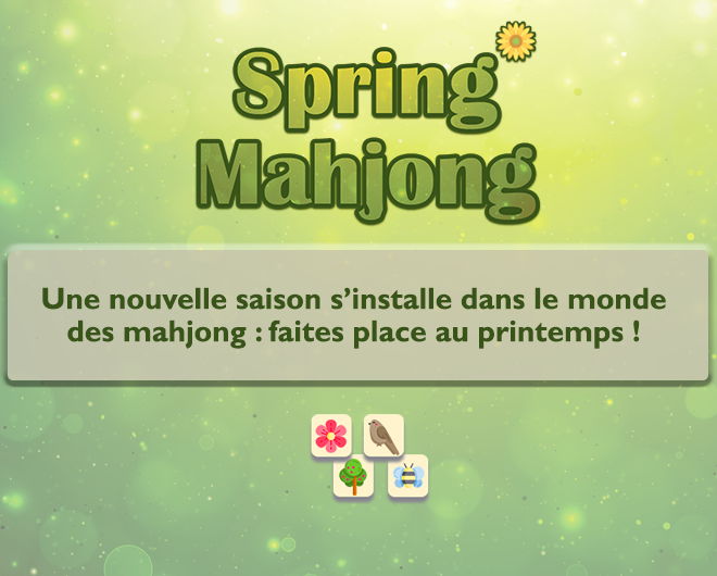 Spring Mahjong landing