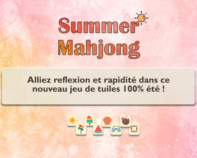Summer Mahjong landing