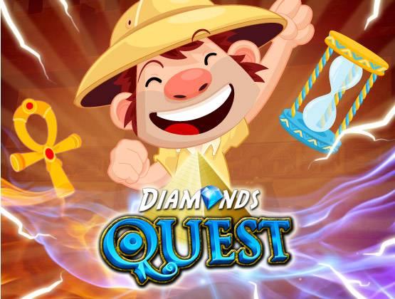 Diamonds Quest landing