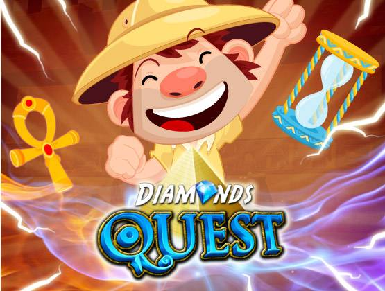 Diamonds Quest landing